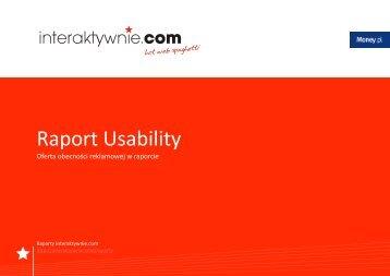 raport usability - oferta reklamowa