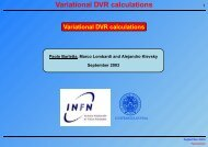 Variational DVR calculations - LPSC