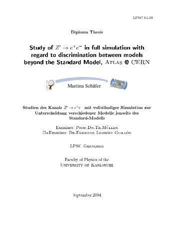 Cern cds thesis