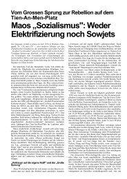 Weder Elektrifizierung noch Sowjets - Neoprene