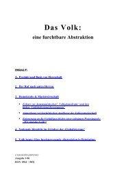 Das Volk: eine furchtbare Abstraktion (pdf) - Neoprene