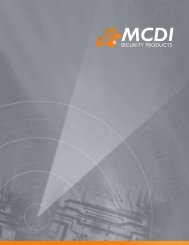 MCDI Security Products 2007-2008 catalogue