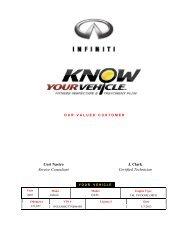 Cori Nastro Service Consultant J. Clark Certified ... - Dealer.com