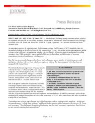 (Page 1 of 3) J.D. Power and Associates Reports ... - Dealer