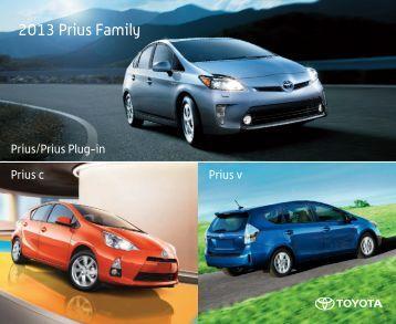 2013 Prius Family - Amazon S3