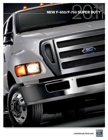 new f-650/f-750 super duty - Borgman Ford Commercial Vehicles