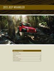 2013 Jeep Wrangler - Dealer