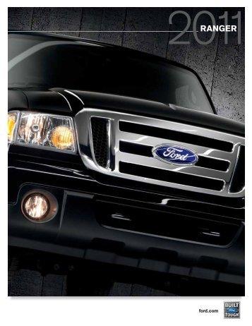 2011 Ford Ranger Brochure - Cavauto