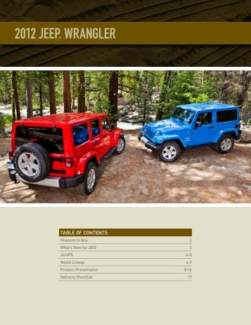 2012 Jeep® Wrangler - Londonderry Dodge