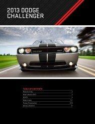 2013 DoDge Challenger - Dealer