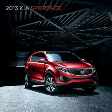 2013 KIA SPORTAGE E-Brochure - Pocatello Kia
