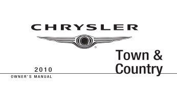 chrysler jeep dodge pin bypass pin code reading manual rh yumpu com town and country chrysler 2010 owners manual town and country chrysler 2010 owners manual