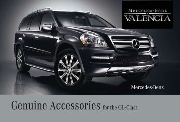 Genuine Accessories for the GL-Class - Dealer