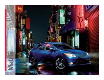 2013 Matrix Brochure - Toyota