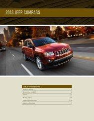 2013 Jeep Compass - Dealer