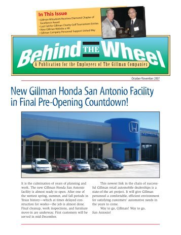 Marvelous New Gillman Honda San Antonio Facility In Final Pre ...   Dealer