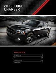 2013 DoDge Charger - Dealer