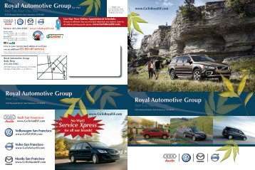 Royal Automotive Group Body Shop - Dealer