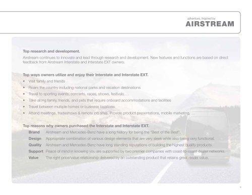 Airstream® and Mercedes-Benz.® - Dealer