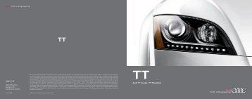 2013 Audi TT Brochure - Motorwebs