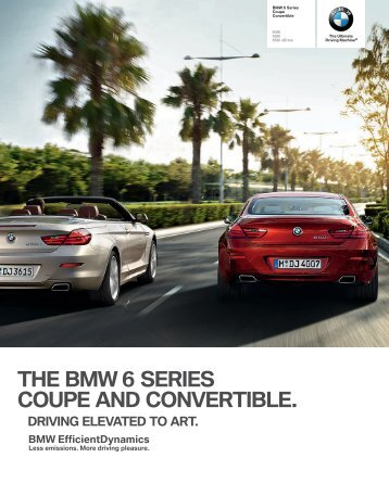 THE BMW  SERIES COUPE AND CONVERTIBLE.