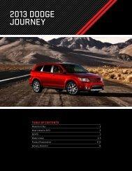 2013 DoDge Journey - Dealer