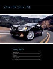 2013 ChRySLeR 300 - Dealer