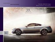 The 2011 Infiniti G37 Coupe. - Dealer