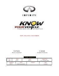 Cori Nastro Service Consultant J. Antonio Certified ... - Dealer.com