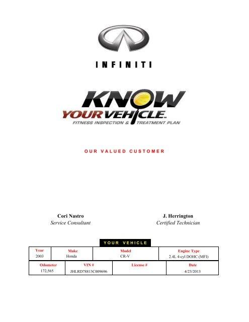 Cori Nastro Service Consultant J. Herrington Certified ... - Dealer.com
