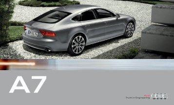 2012 Audi A7 - Barrier