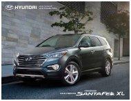 2013 Santa Fe XL - Hyundai of Goderich