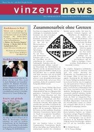 Zusammenarbeit ohne Grenzen - Vinzenz Gruppe