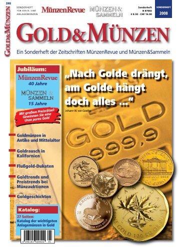 Gold-Münzen-Sonderheft