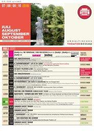 07|08|09|10 2010 - Anhaltisches Theater Dessau