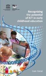 Recognizing the potential of ICT in early childhood ... - unesco iite