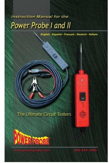 PP1&2 Xchnge Manual.indd - Power Probe