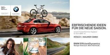 Unsere Angebote für Ihren BMW 1er. (PDF, 2401k)