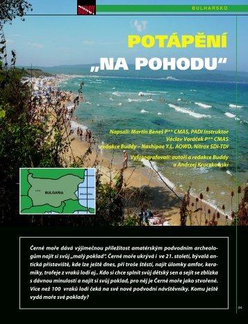 Bulharsko - BUDDY Potápění
