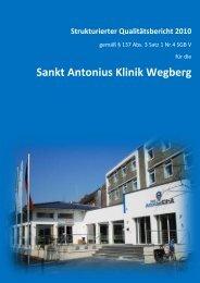 Strukturierter Qualitätsbericht 2010 - Klinikführer Rheinland