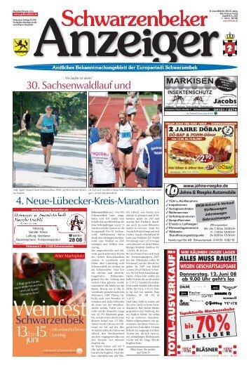 Schwarzenbeker Anzeiger - Kurt Viebranz Verlag