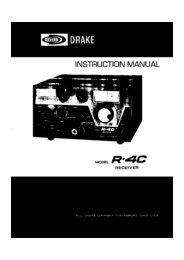 Drake_R4C HF Reciever_Service Manual.pdf