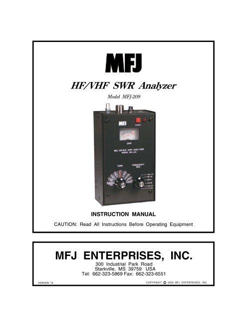 MFJ ENTERPRISES, INC  - Classic International