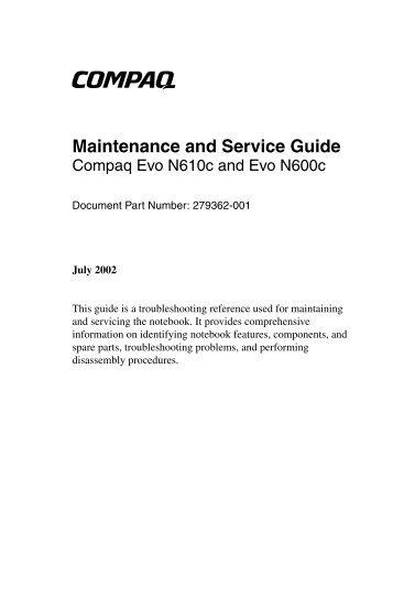 compaq service user guide user manual guide u2022 rh alt school life com Example User Guide User Manual