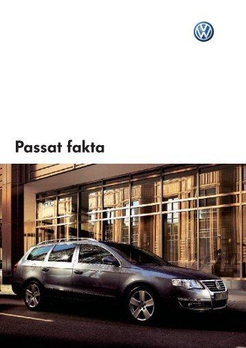 Passat fakta - Volkswagen