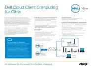 Dell Cloud Client Computing für Citrix - Wyse Technology