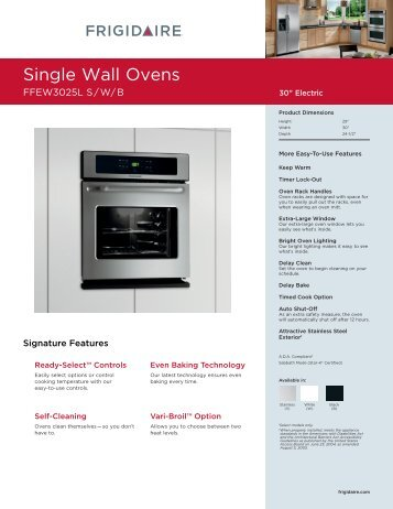 Drop-In Cooktop Single Wall Ovens