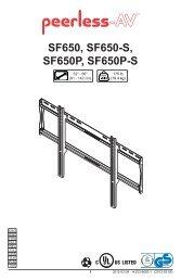 SF650, SF650-S, SF650P, SF650P-S
