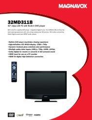32MD311B/F7 Magnavox