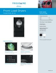 Front Load Dryers